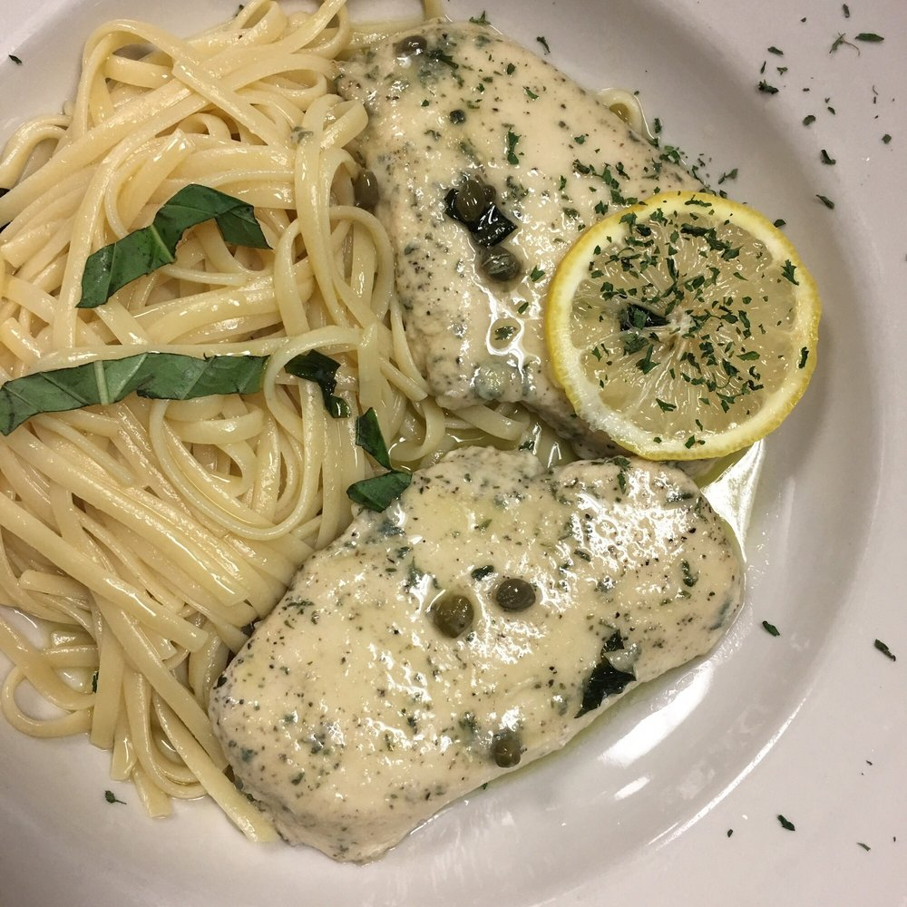 Food from Benny's Italian Restaurant