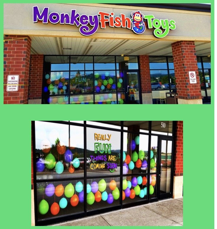 Monkey fish toys toy shops 510 simpson dr chester for Monkey fish toys