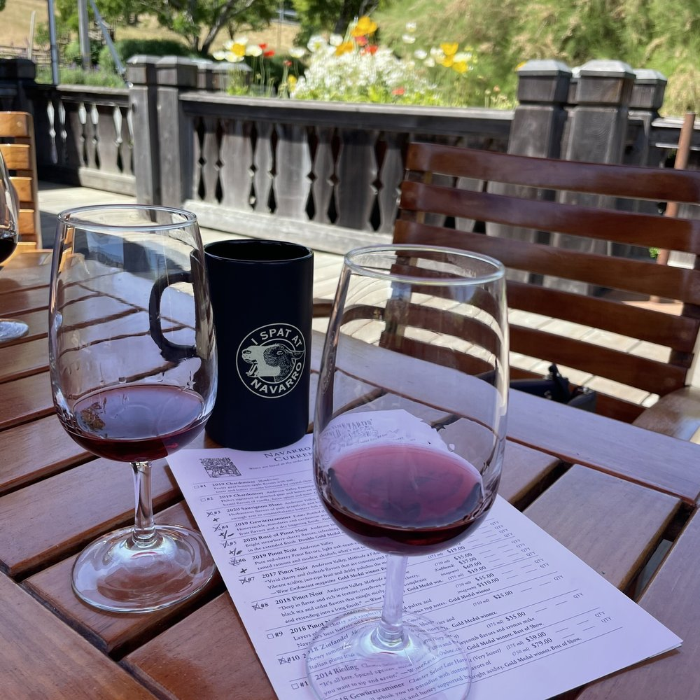 Navarro Vineyards & Winery: 5601 Hwy 128, Philo, CA