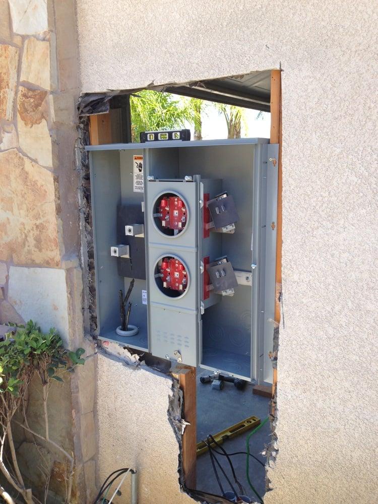 Electric Meter Panel : Amp two meter panel for tesla car yelp