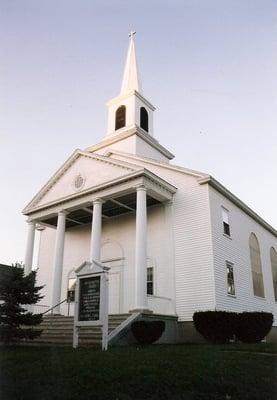 United Baptist Church 28 Hancock St Ellsworth Me Places Of