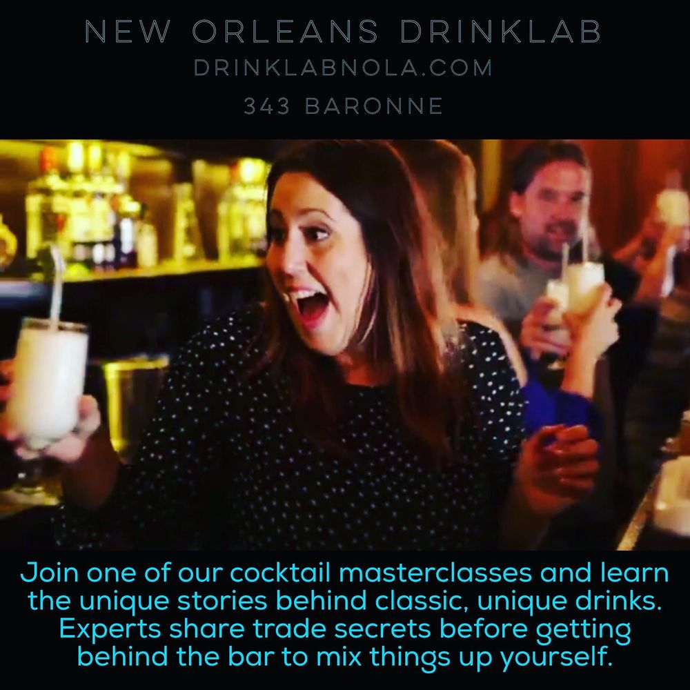 New Orleans Drink Lab
