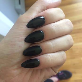 Photo Of Protips Nail Salon Odenton Md United States Black Polish