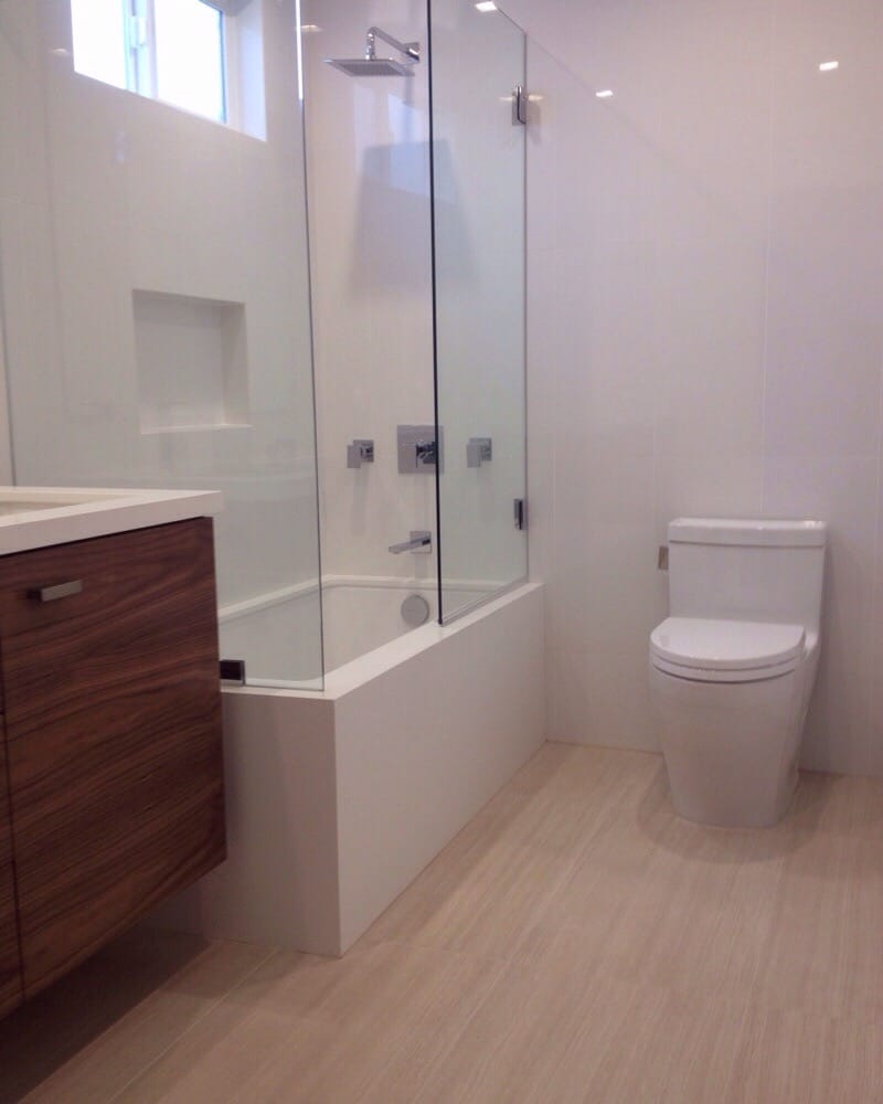 Toto toilet, Graff taps and shower head - Yelp