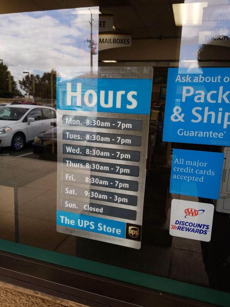 The UPS Store: 12625 Frederick St, Moreno Valley, CA