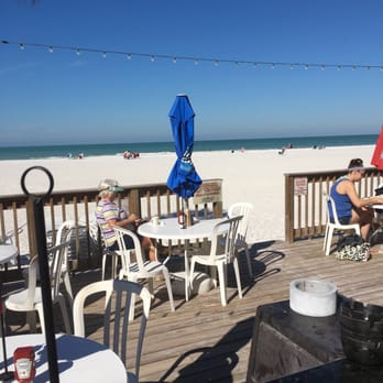 Photo Of Coquina Beach Cafe Bradenton Fl United States View From