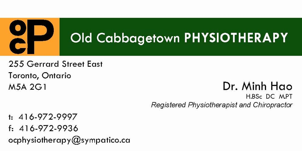 Old Cabbagetown Physiotherapy