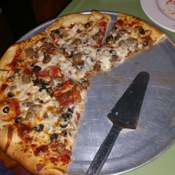 Big lisa pizza sausage