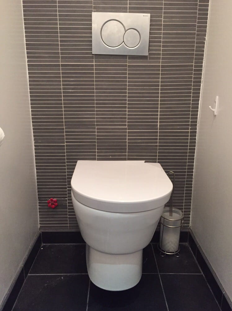 Our beautiful geberit wall mounted toilet with a for Geberit toilet system