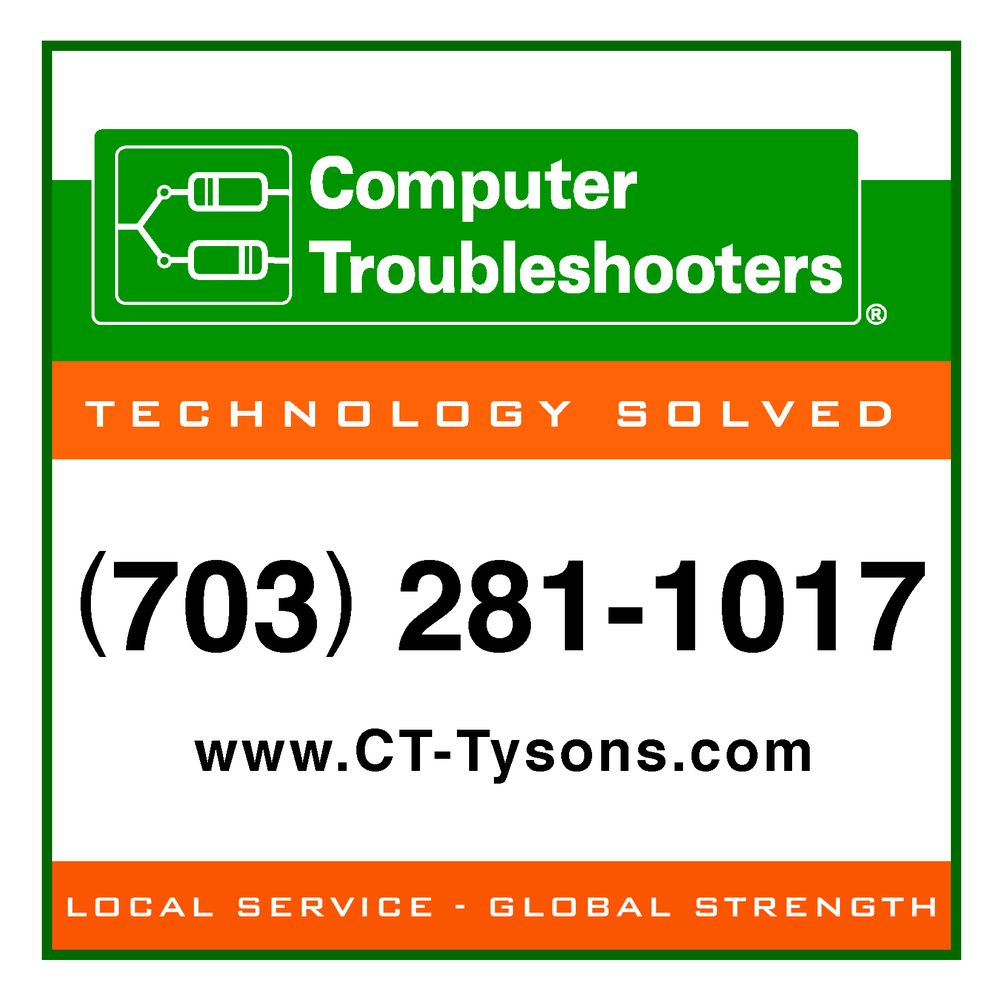 Computer Troubleshooters of Tysons: 386 Maple Ave E, Vienna, VA