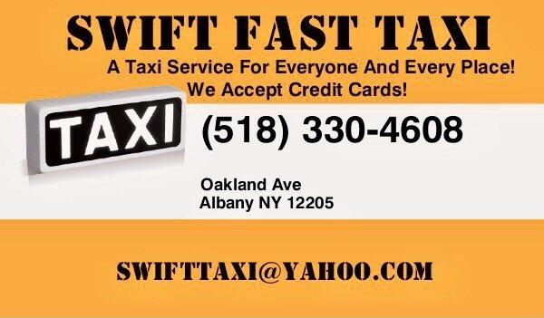 Swift Fast Taxi: Albany, NY