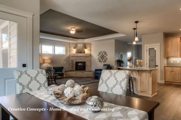 creative concepts home staging and contracting salem or interior