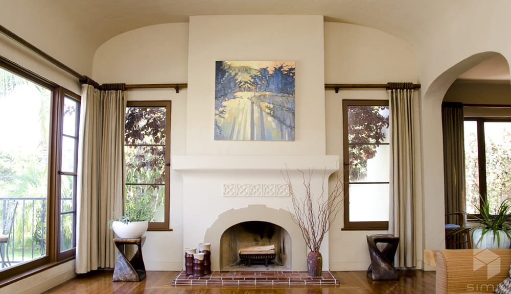 1920s Spanish Style Fireplace Remodel Yelp