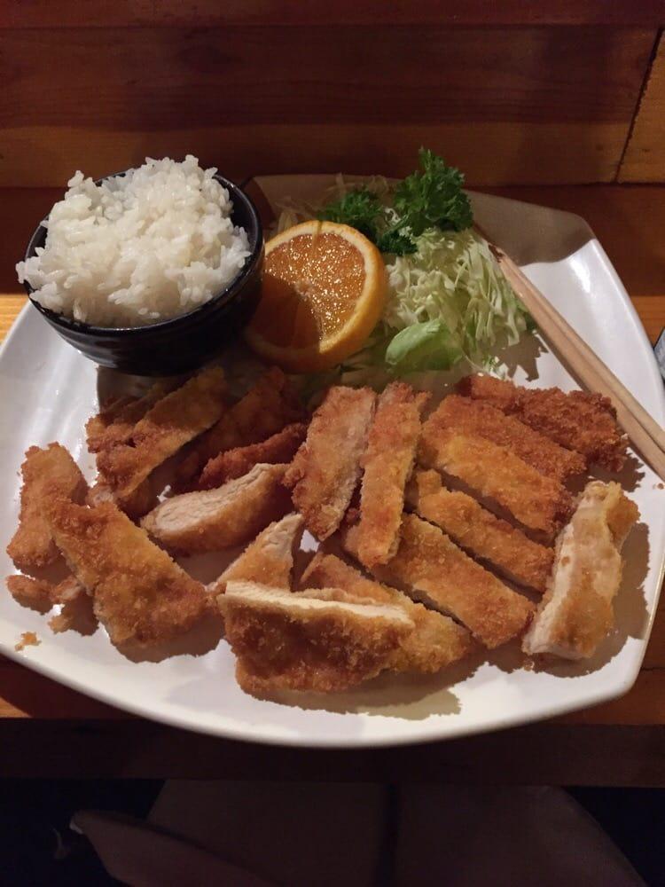 Chicken katsu aka breaded chicken yelp for Aka japanese cuisine