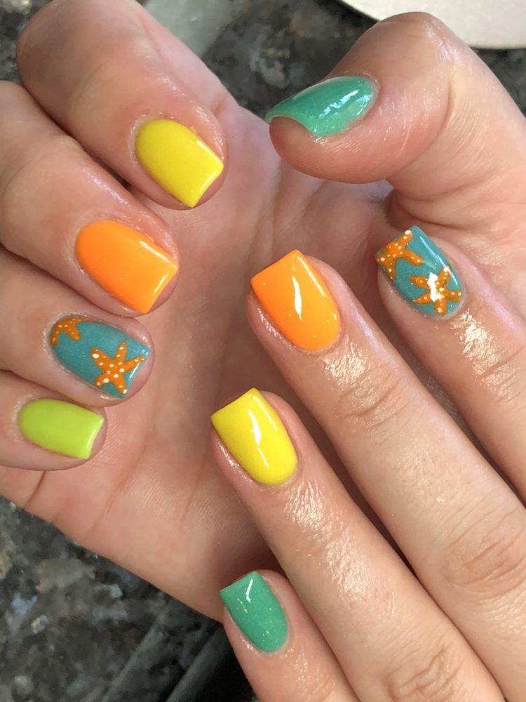 Summer Sns Nails Designs Yelp