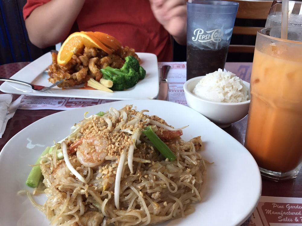 Food from Asian Delight Thai Restaurant
