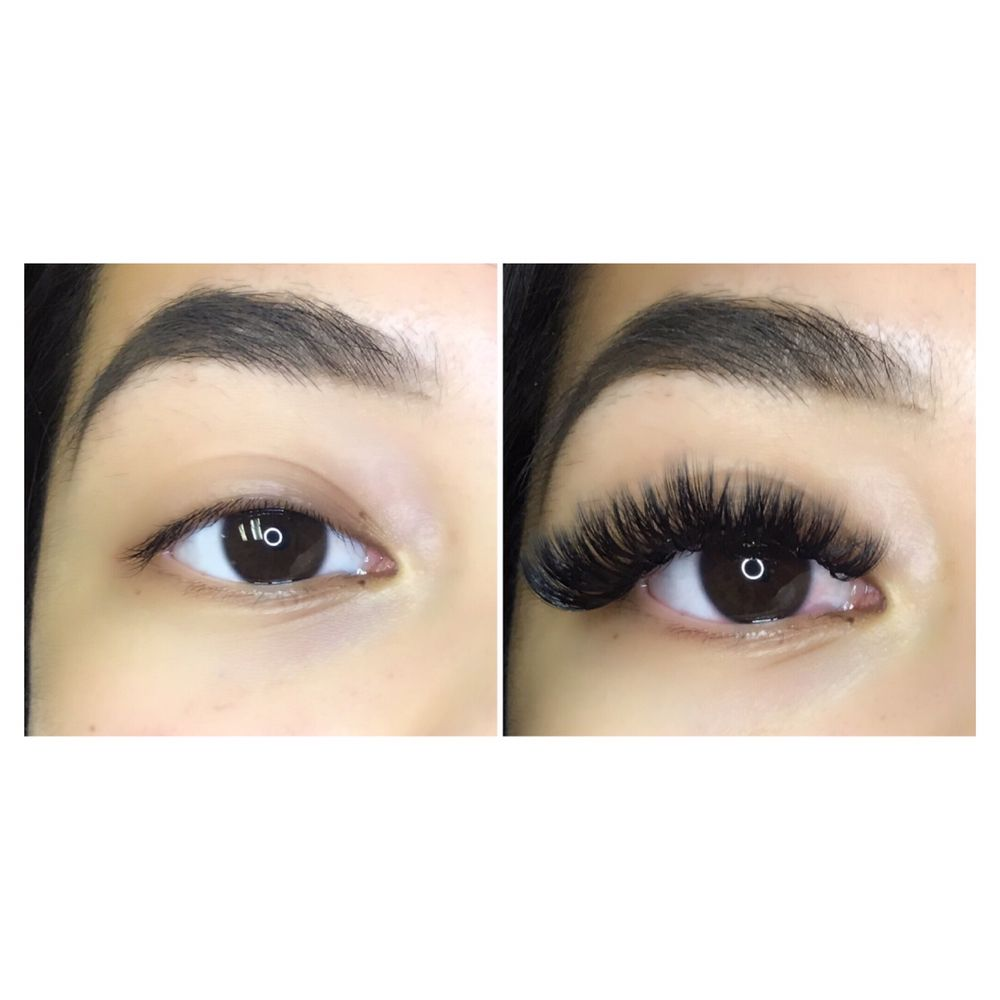 Beautiful Before And After Volume Lash Extensions Yelp