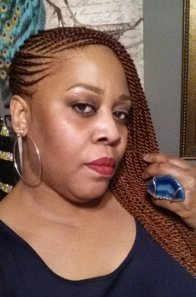 Side braids (cornrows and Senegalese twists) - Yelp