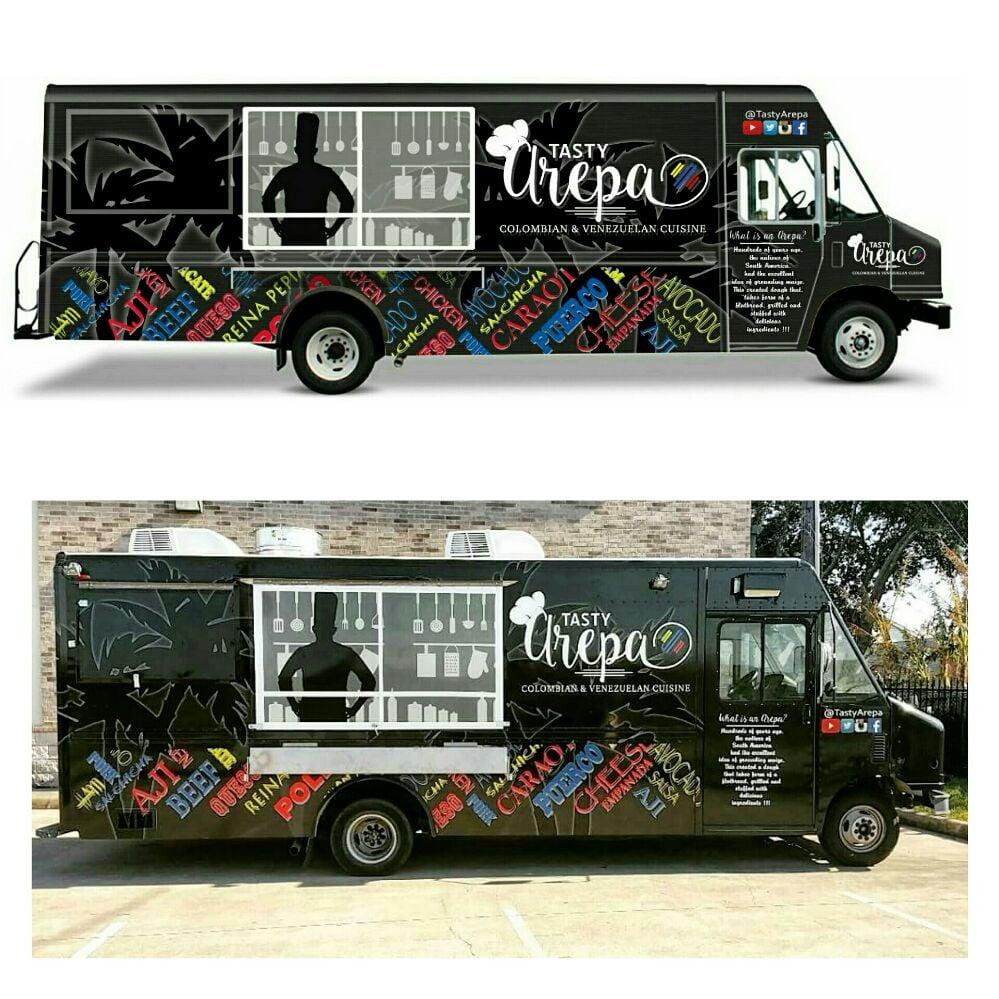 Arepa Food Truck Houston