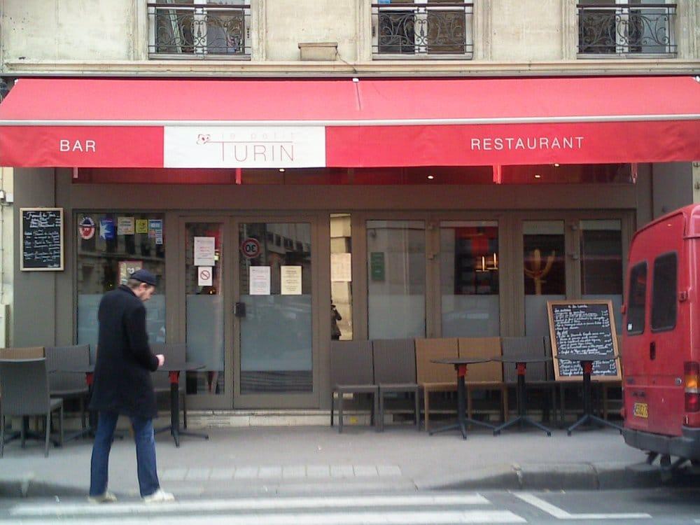 Restaurant Rue De Turin Paris