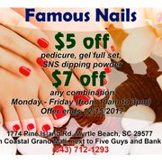 Photo Of Famous Nails Myrtle Beach Sc United States