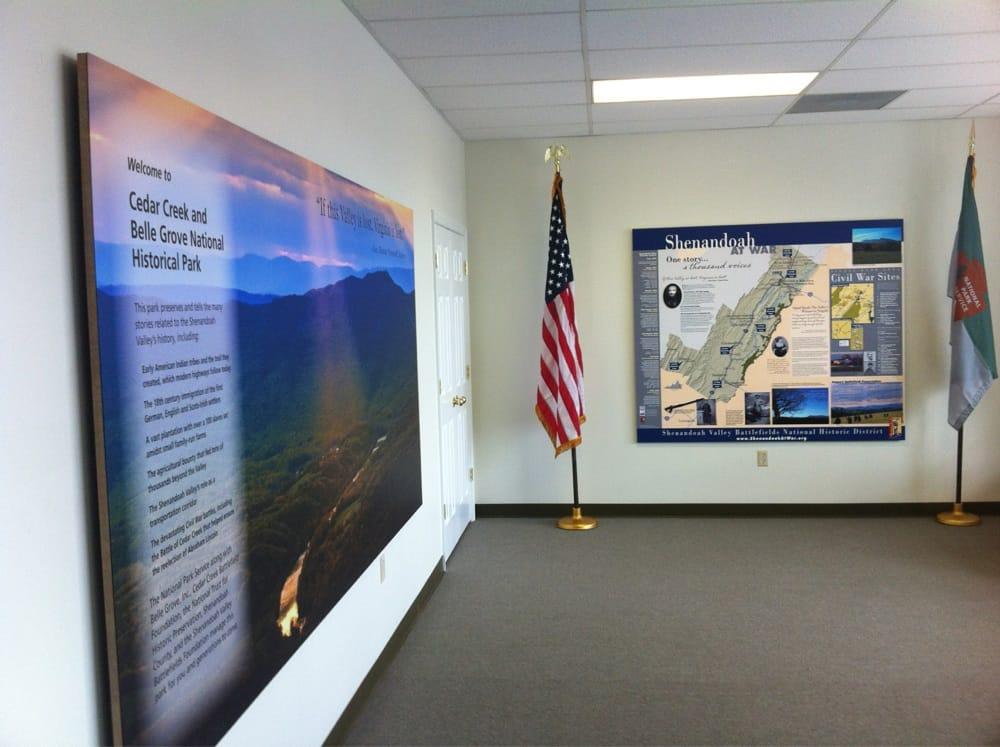 Cedar Creek & Belle Grove National Historic Park: 7712 Main St, Middletown, VA