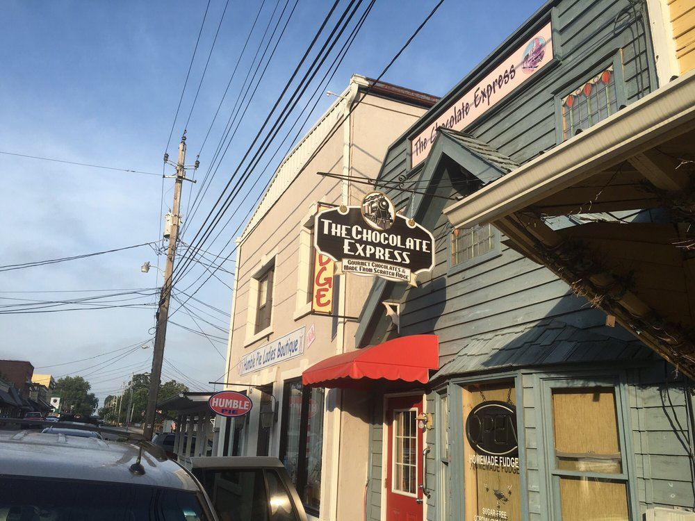 The Chocolate Express: 634 E Main St, Blue Ridge, GA