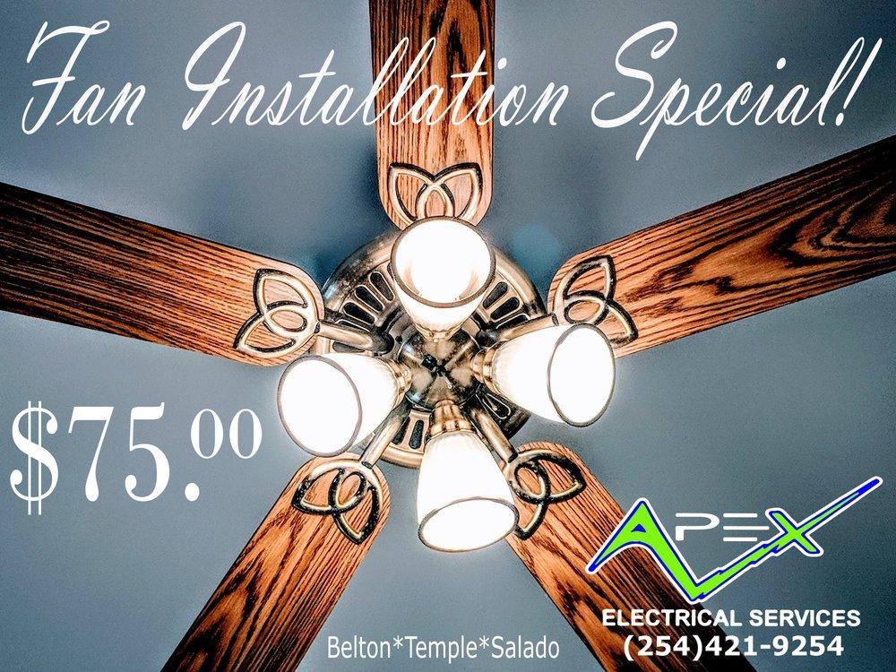 Apex Electrical Services: 2608 N Main St, Belton, TX