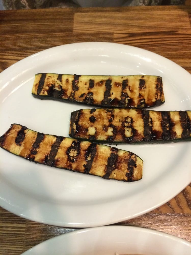 Grilled zucchini so good yelp for Fish dish sherman oaks