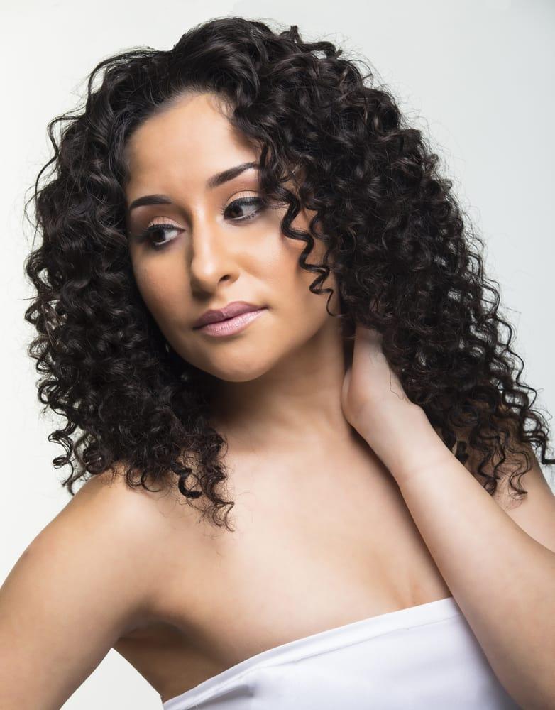 Micro Links And Keratin Fusion Peruvian Curly Virgin Hair Extensions