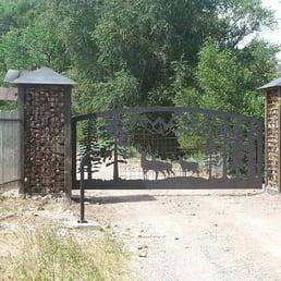 Photo Of England Fence Montrose Co United States Custom Gates And Operators
