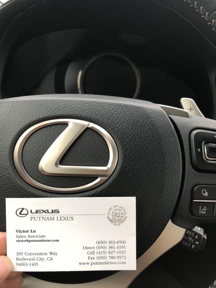 Lexus Redwood City >> Putnam Lexus 142 Photos 824 Reviews Car Dealers 390
