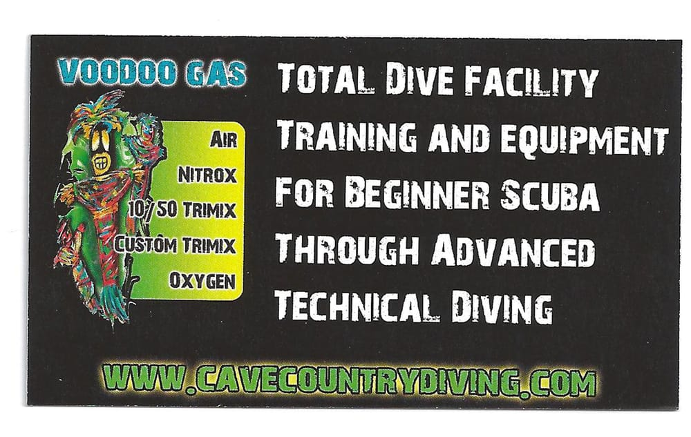 Cave Country Dive Shop: 705 NW Santa Fe Blvd, High Springs, FL
