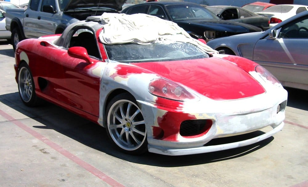 ferrari 360 spider kit car built on a 2000 toyota mr2 chassis yelp. Black Bedroom Furniture Sets. Home Design Ideas