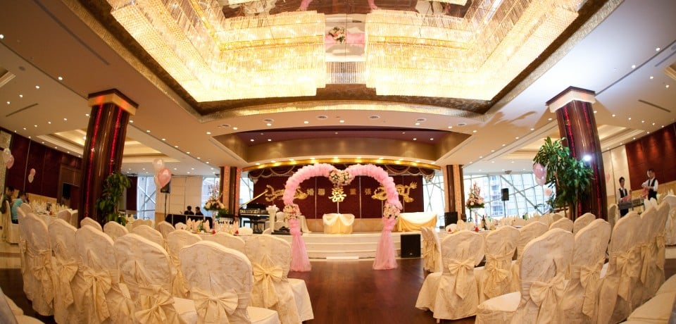 Wedding venues decoration seafood menu dim sum