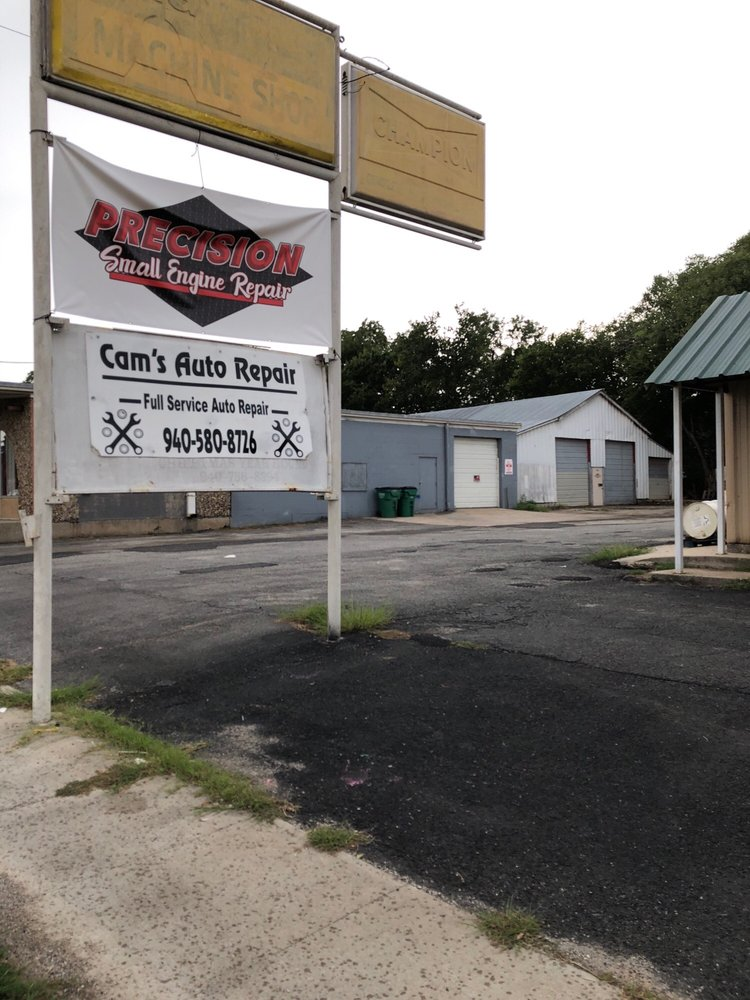 Cam's Auto Repair: 833 N Grand Ave, Gainesville, TX