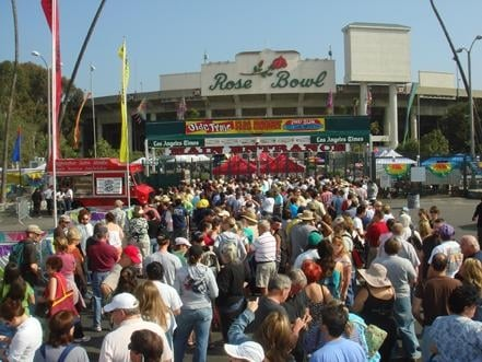 Rose Bowl Flea Market: 1001 Rose Bowl Dr, Pasadena, CA