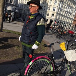 Photo Of Bike Copenhagen With Mike Denmark At Our First Stop