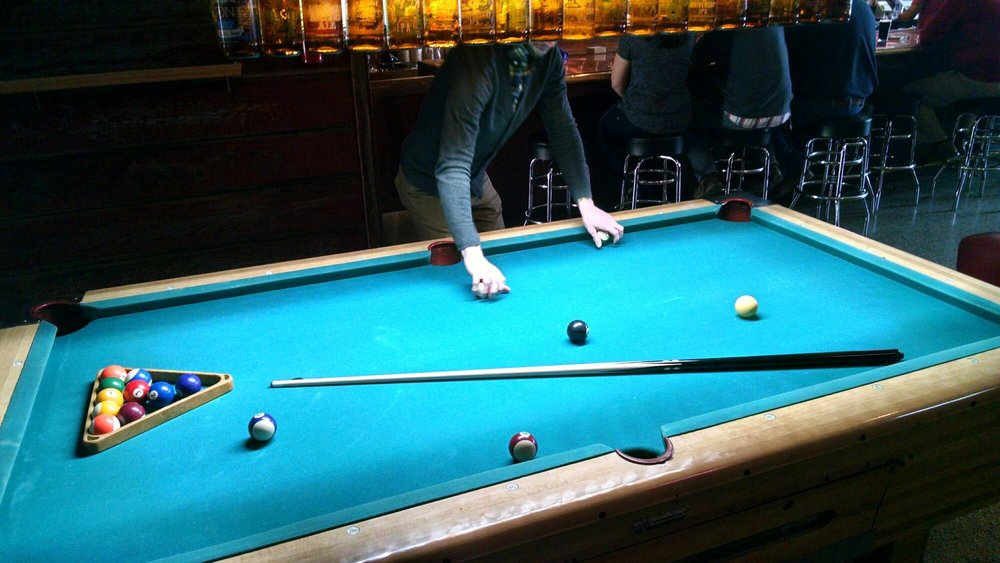 Pool Table In Spectacular Shape For A Year Old Table Yelp - Springdale pool table