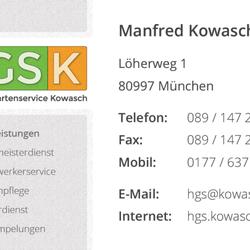 HGSK | Haus- und Gartenservice Kowasch - Bauunternehmen - Löherweg ...