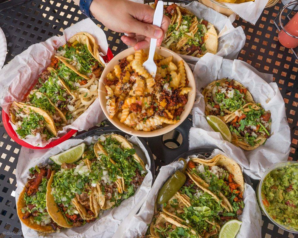 Food from El Trompo Mexican Taqueria