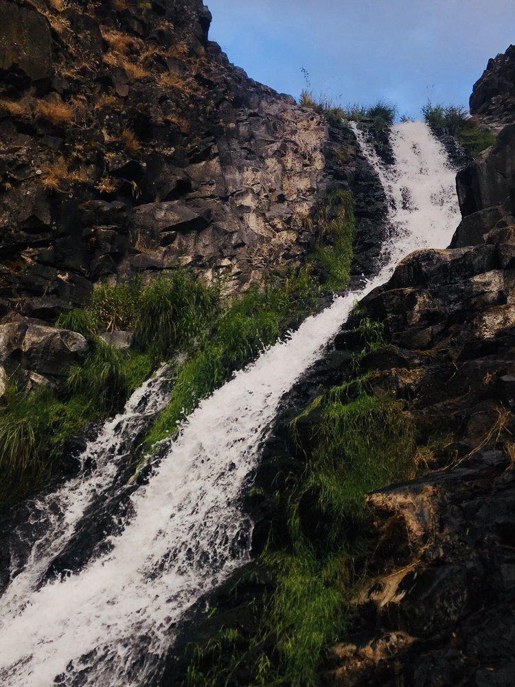 Mosier Creek Falls: Mosier Creek Bridge, Mosier, OR