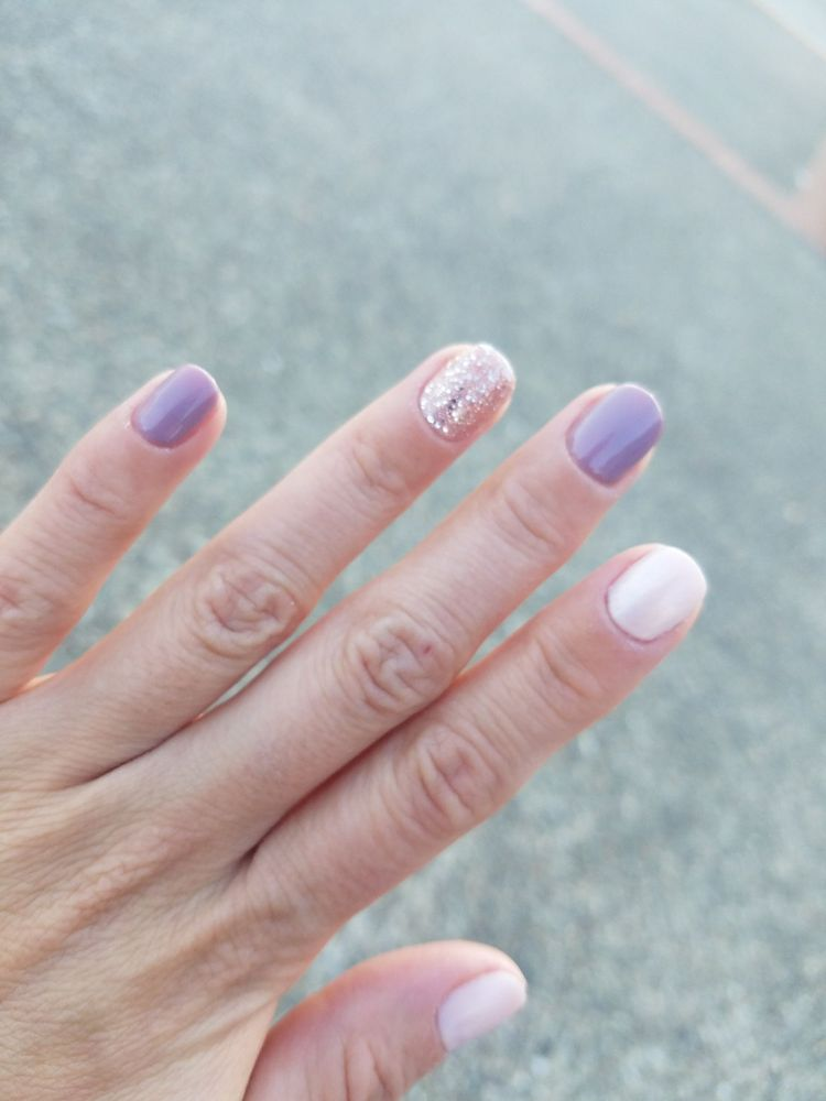 Gel manicure - love how my nails came out, obsessed with them ...