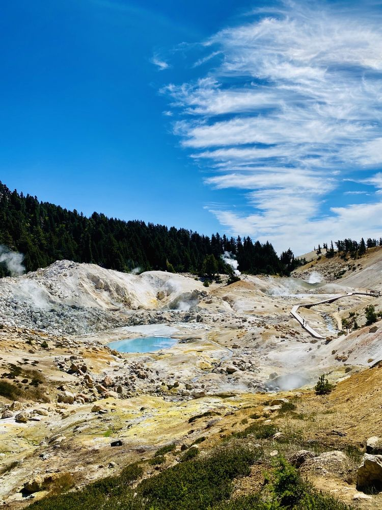 Lassen Volcanic National Park: 21820 Lassen National Park Hwy, Mineral, CA