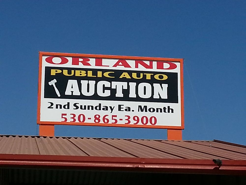 Orland Auto Auction >> Orland Auto Auction 3825 Co Rd 99 W Orland Ca 2019 All
