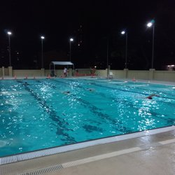 pool water at night. Photo Of McCully Pool - Honolulu, HI, United States. Nights At The Water Night P