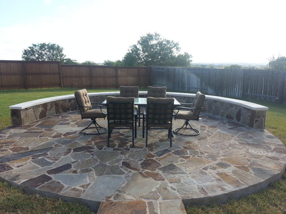 Landscape Stone Patio Ideas Yelp