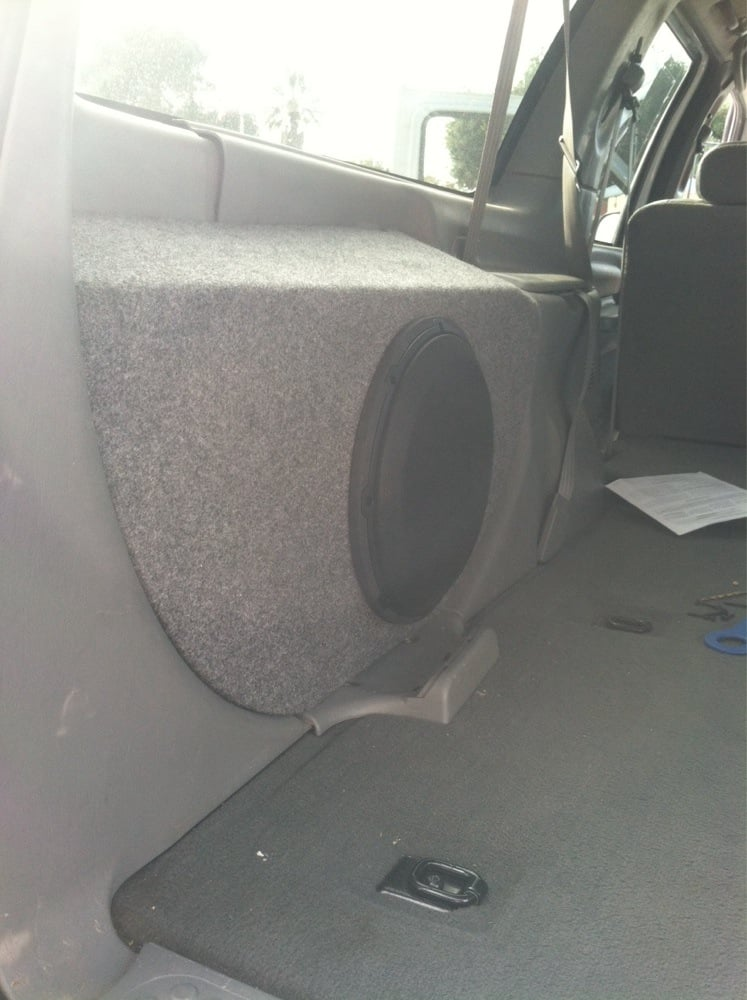 2004 Ford Excursion Spare Tire Replaced With 12 Inch Jl Audio Rhyelp: Ford Excursion Audio At Gmaili.net