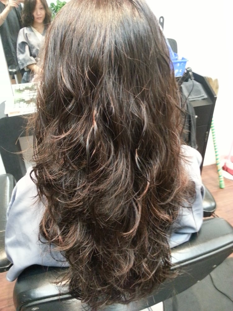 body wave perm by moi yelp. Black Bedroom Furniture Sets. Home Design Ideas