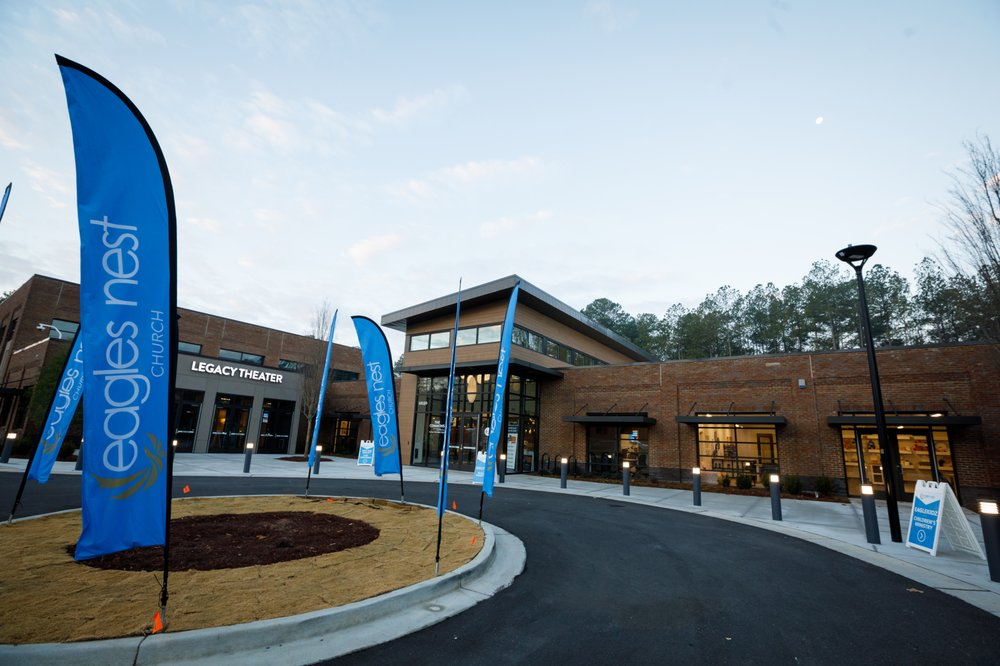 Eagles Nest Church: 12150 Morris Rd, Alpharetta, GA